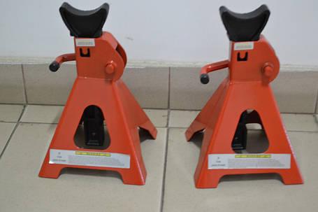 Комплект підставок до машин 6т JACK STANDS, уп-2шт, фото 2