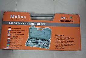 Набір торцевих ключів Moller MR60604