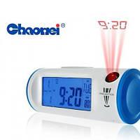 Цифровые часы проектор с подсветкой