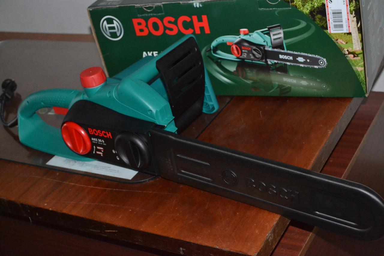 Акція: Електропила ланцюгова Bosch AKE 35 S+1 цеп