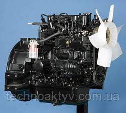 Двигатель MitsubishiL3E - 4-цилиндровый двигатель, с водяным естественным охлаждением.