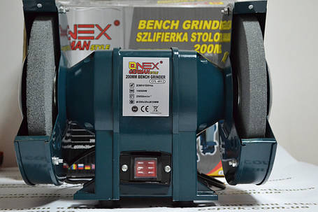 Точильний верстат ONEX OX-4012, 200мм, фото 2