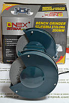 Точильний верстат ONEX OX-4012, 200мм, фото 3