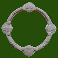 Декор круглый из дерева