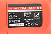 Кутова шліфмашина Start PRO SAG-125/1070, фото 2