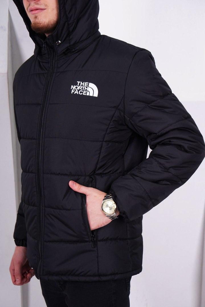 Мужская теплая зимняя куртка/пуховик The North Face, черная