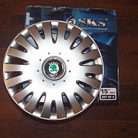 Колпаки на колеса SKS R15 Skoda - Колпаки на диски - Модель 306, купить комплект недорого