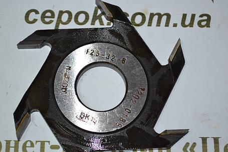 Фреза дискова пазова Белмаш 125*32*8, фото 2