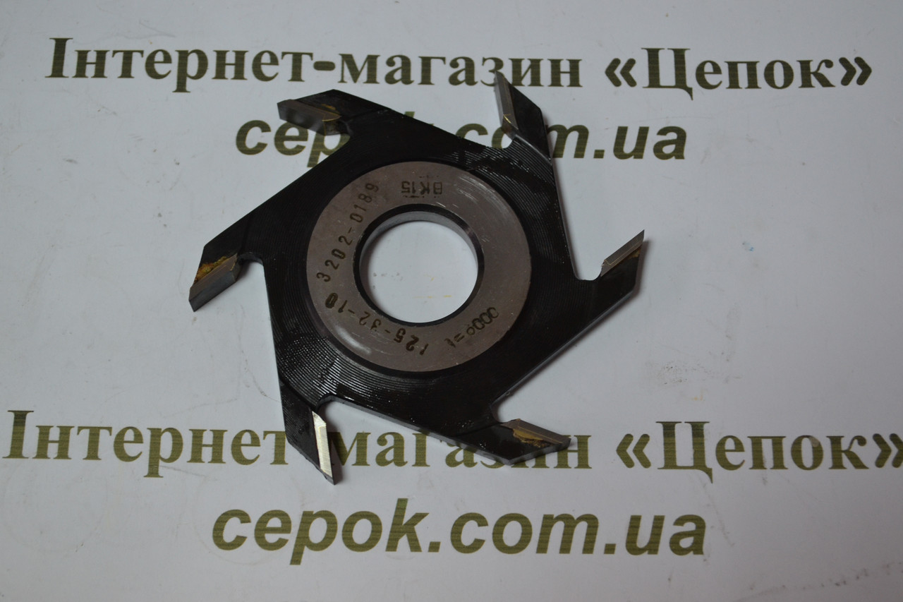 Фреза дискова пазова Белмаш ПФ10 (125*30-32*10)