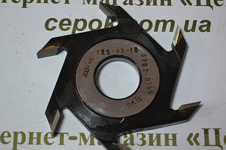 Фреза дискова пазова Белмаш ПФ10 (125*30-32*10), фото 2