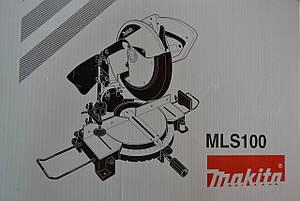 Торцювальна пила Makita MLS100, фото 2