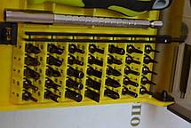 Викрутка з набором прецизійних біт DK-7091, 37шт, фото 2