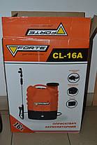 Обприскувач акумуляторний Forte CL-16A 16L, фото 2