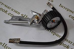 Пістолет для підкачки коліс з манометром Onex OX-1031, фото 2