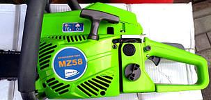 Бензопила Riber-Pro MZ-58, легкий старт, фото 2