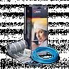 Нагревательный электрический мат для теплого пола  3,5 м.кв (525Вт) Nexans Millimat/150