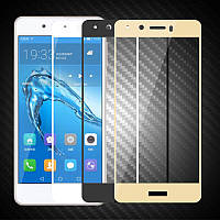 Защитное стекло с рамкой для Huawei Honor 6C
