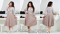 Платье люрекс р-ры 50-58