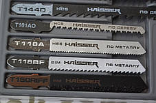 Набір пилочок для лобзика HAISSER 10 шт, фото 3