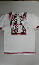 Вишиванка к/р дівч. SOfline 41-2329, 140, 146-60 біла з червоним