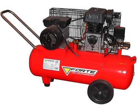 Ремінний компресор ZA 65 - 100. Forte, фото 2