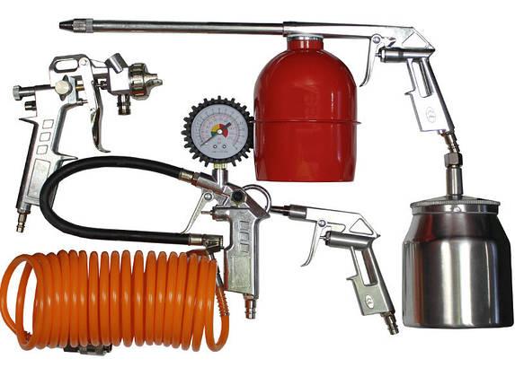 Набір пневмоінструментів Werk KIT-5SN, фото 2