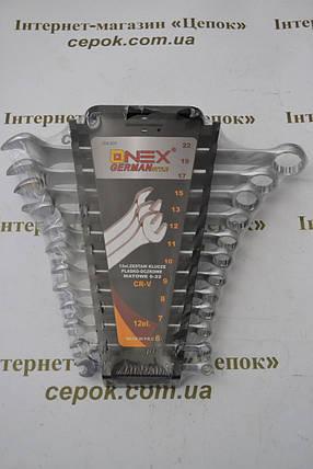 Набір ключів ONEX  OX-231, 6мм-22мм, 12 шт, фото 2