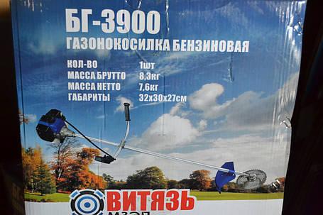 Бензокоса Витязь БГ-3900, фото 2