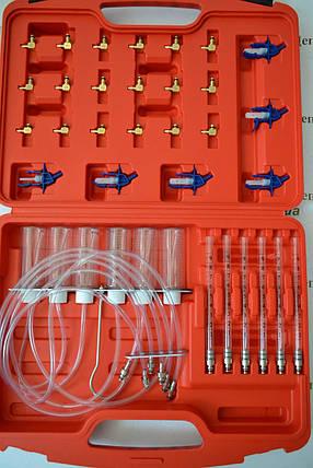 Тестер герметичності дизельних форсунок з адаптерами, фото 2