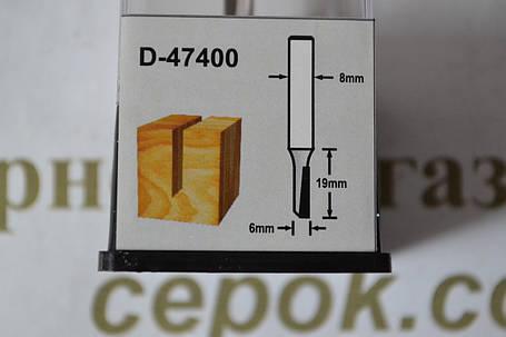 Фреза пряма Мakita 1 ніж, 6х19х50.8мм, фото 2