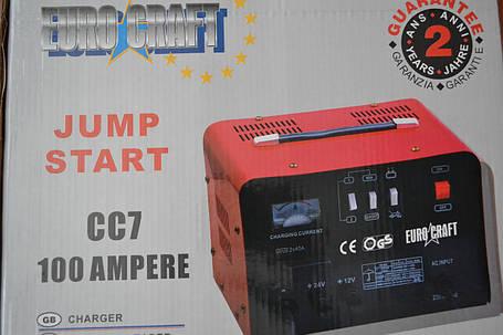 Пуско-зарядний пристрій Euro Craft 100A, фото 2