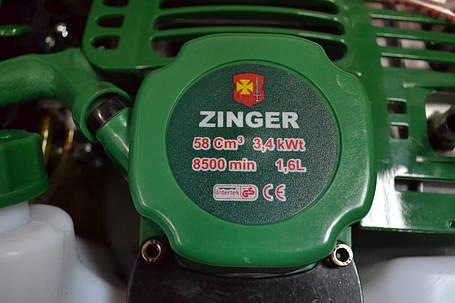 Мотокоса ZINGER 525, 3.4кВт, фото 2