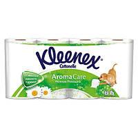Бумага туалетная Kleenex Ромашки 8 шт
