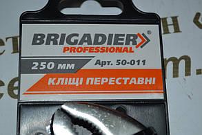 Кліщі переставні Brigadier Professional, 250 мм, фото 2