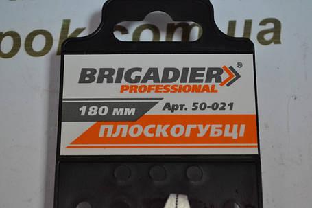 Плоскогубці Brigadier Professional 180 мм, фото 2