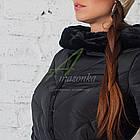 Модное зимнее пальто с мехом для женщин - (модель кт-194), фото 4