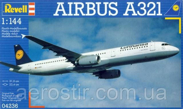 AIRBUS A321 1/144 REVELL 04236