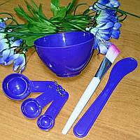 Набор для приготовления грязевых масок 6-в-1, фиолетовый, Китай