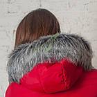 Зимнее женское пальто сезона 2017-2018 - (модель кт-187), фото 2