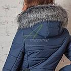 Зимнее женское пальто сезона 2017-2018 - (модель кт-187), фото 5