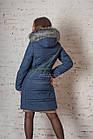 Зимнее женское пальто сезона 2017-2018 - (модель кт-187), фото 6