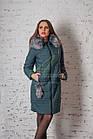 Зимнее женское пальто сезона 2017-2018 - (модель кт-187), фото 8