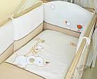 Комплект постельного белья Italy cotton Жираф 6 пр, фото 2