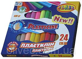 """Пластилин Class """"Чистые руки"""" 24 цвета"""