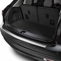 Накладка декоративная на заднем бампере верхняя защитная Acura MDX 2014-2016 Новая Оригинальная