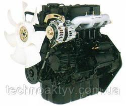 Двигатель MitsubishiS4L- 4-цилиндровый двигатель, с водяным естественным охлаждением