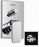 Смеситель для ванны встроенный Hansberg Rain St-24 -В