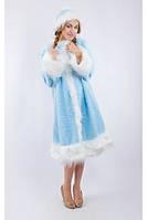 Костюм карнавальный Снегурочки для взрослого, размер 42-48 (Украина) купить оптом в Одессе на 7 км