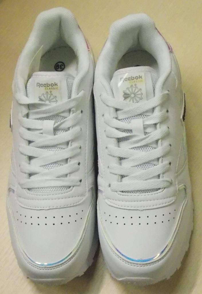 37a8af925 Кроссовки Reebok, цвет Белый + перламутр Эко кожа: продажа, цена в ...