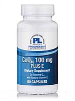 CoQ10 100 mg Plus E, 60 Capsules